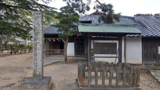 吉田松陰幽囚の旧宅