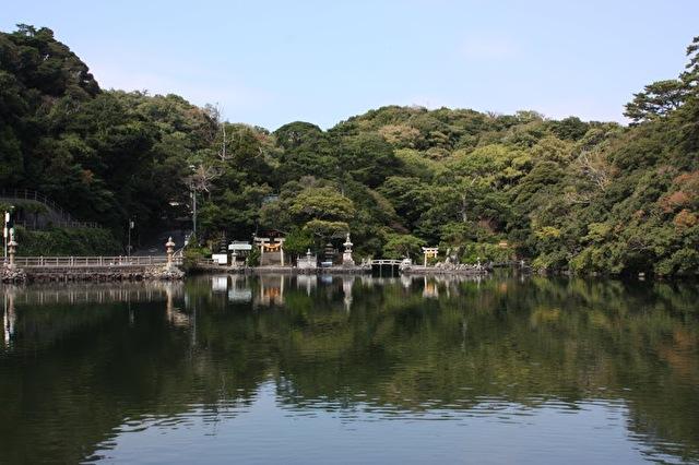 天然記念物 明神池