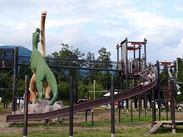 かつやま恐竜の森 長尾山総合公園