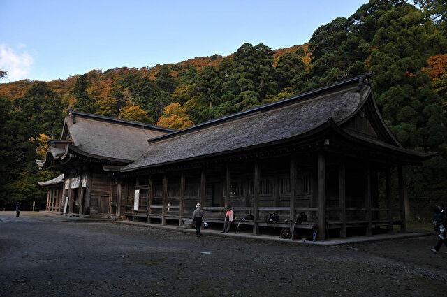 大神山神社 奧宮
