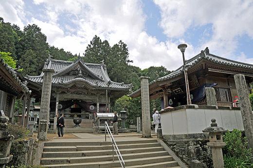 四国霊場第11番札所 藤井寺