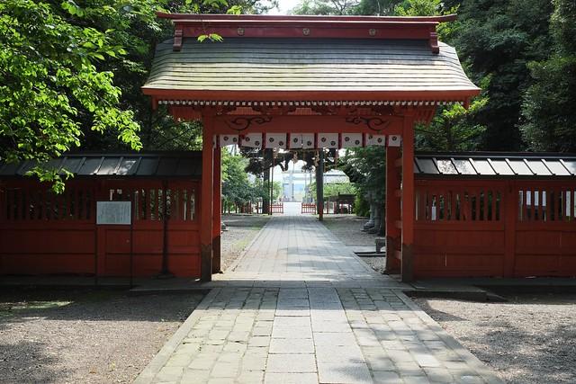 息栖神社(東国三社)