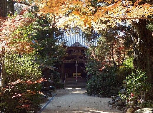 四国霊場第46番札所 浄瑠璃寺