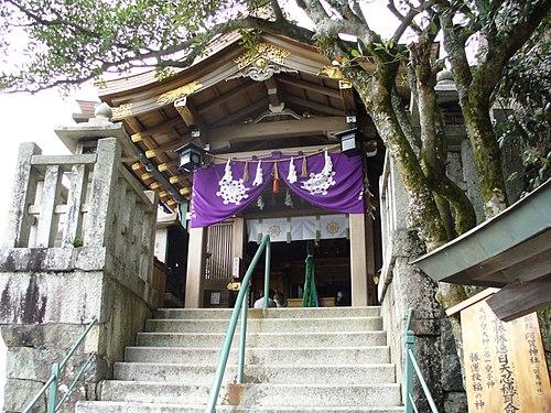 太郎坊宮 阿賀神社