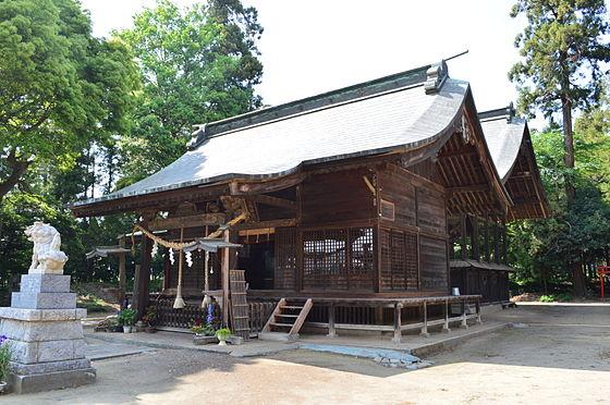 上野國二之宮 二宮赤城神社