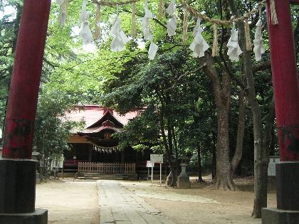 武藏國一之宮 氷川女體神社