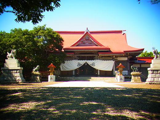 釧路厳島神社 社務所