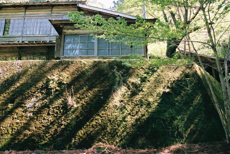 製茶工場の廃屋