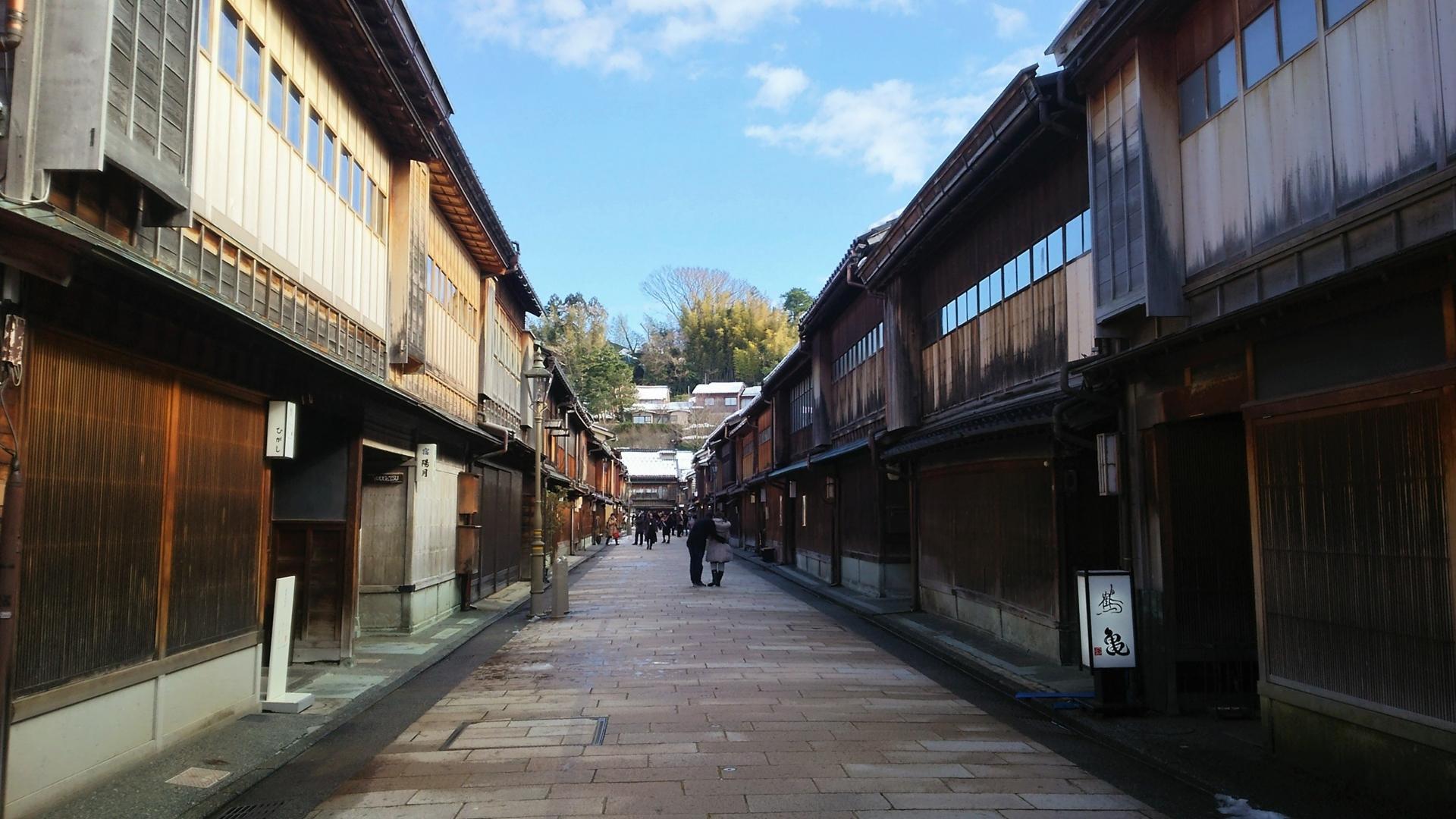 石川県ひがし茶屋街
