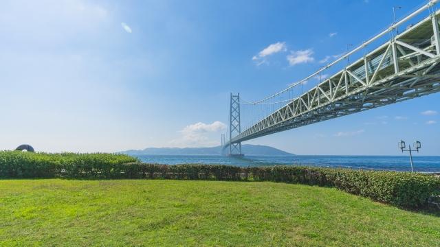 兵庫県明石海峡大橋