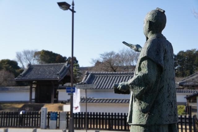 徳川斉昭像と弘道館